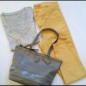 J. Brand yellow skinny jeans size 28